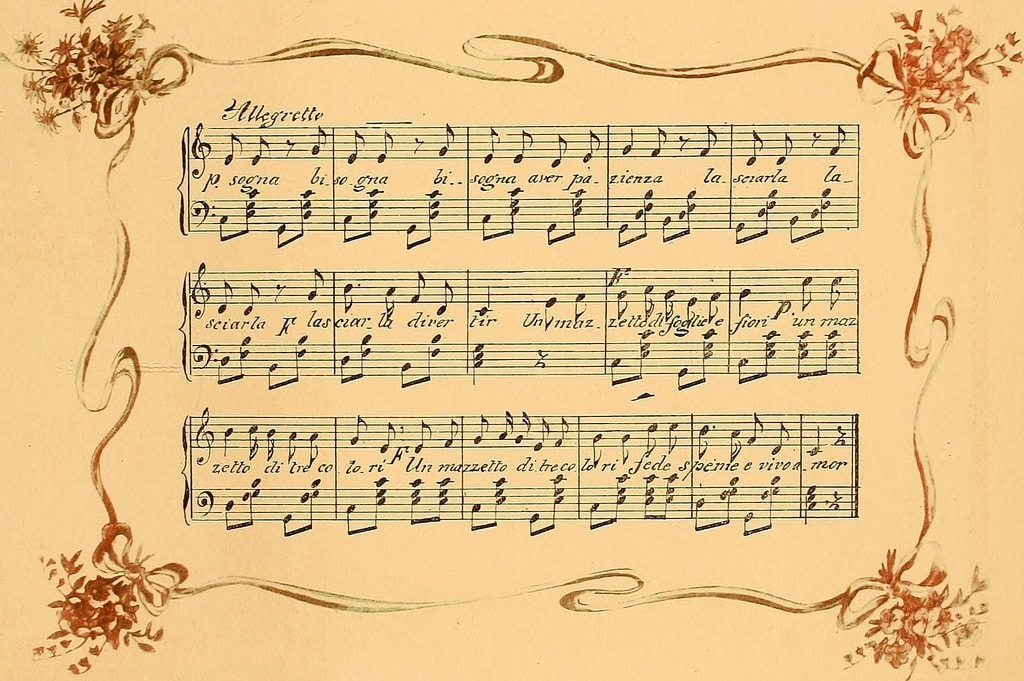 italian song photo