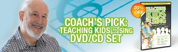 Vocal Coach's Product Pick - Teaching Kids to Sing DVD/CD Set